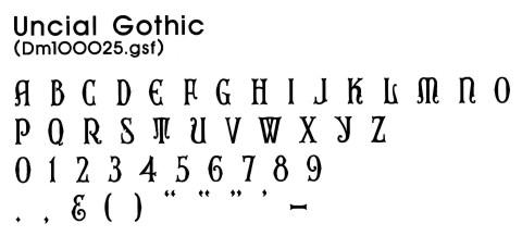 Gerber Scientific Fonts | Design Mart